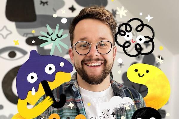 Creative Storyteller Illustrator Artist Andy J. Pizza